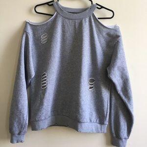 Bloomingdales- Honey Punch gray sweatshirt